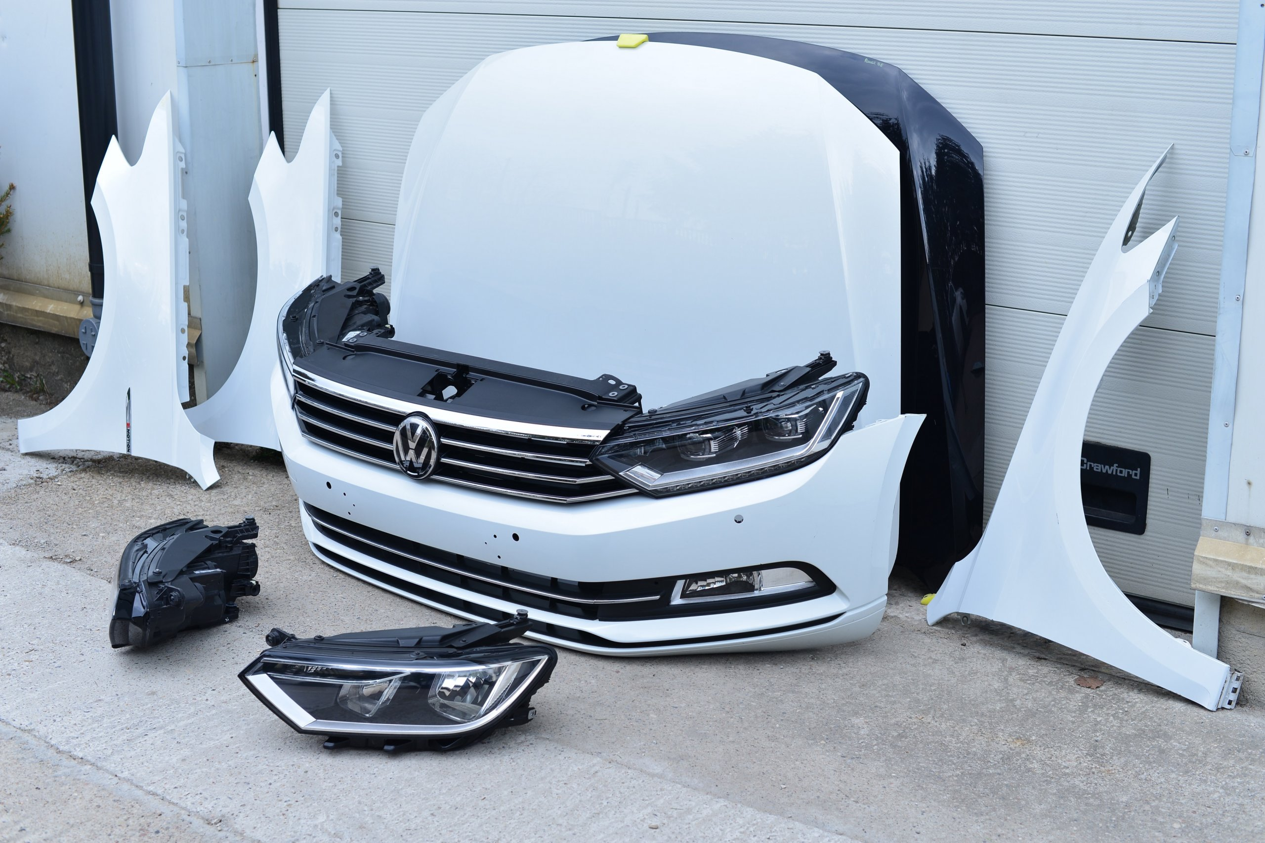 [КАПОТ ZDERZAK КРЫЛО REFLEKTOR PAS VW PASSAT B8 из Польши]изображение 2