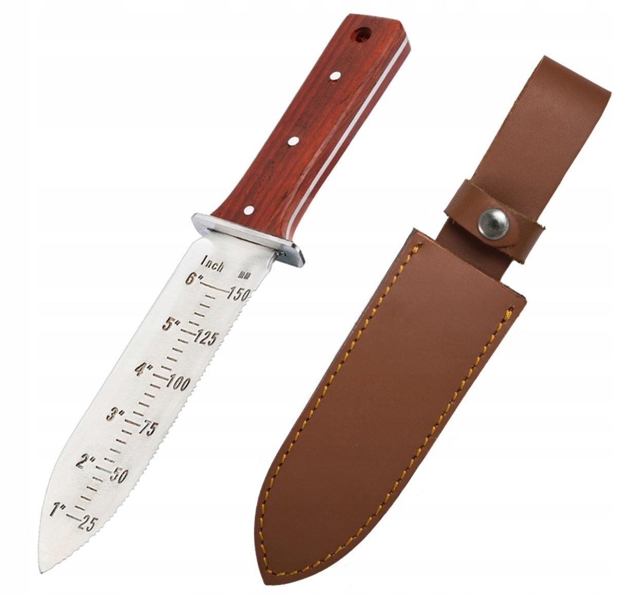 Nożołopatka lopatu Digger PROTECTORTECH červené drevo
