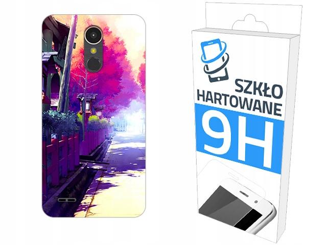 200 wzorów Etui+szkło do Lg K10 2017 Case Kabura