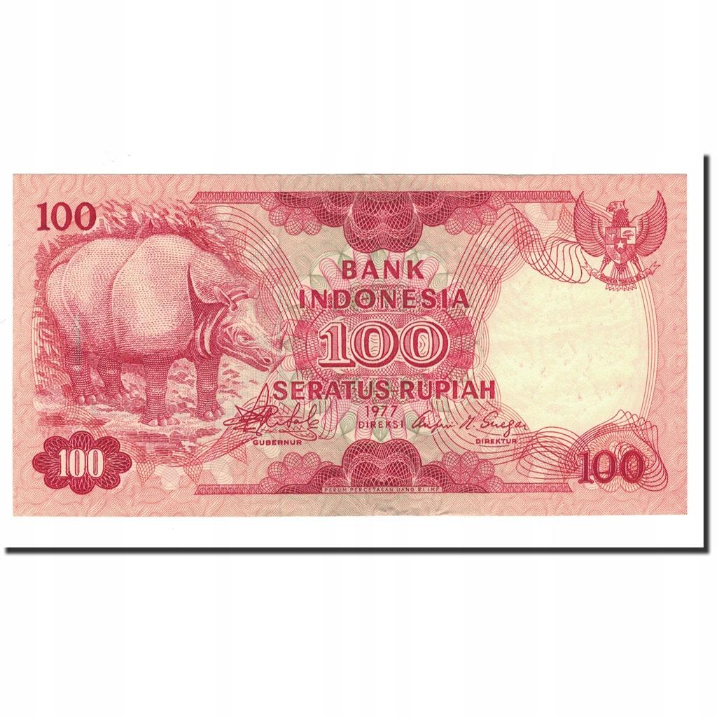 Банкнота, Индонезия, 100 рупий, 1977, КМ: 116, UNC (