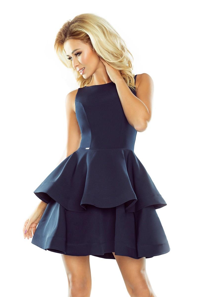 Numoco Rozkloszowana sukienka na wesele 169-2 r. L
