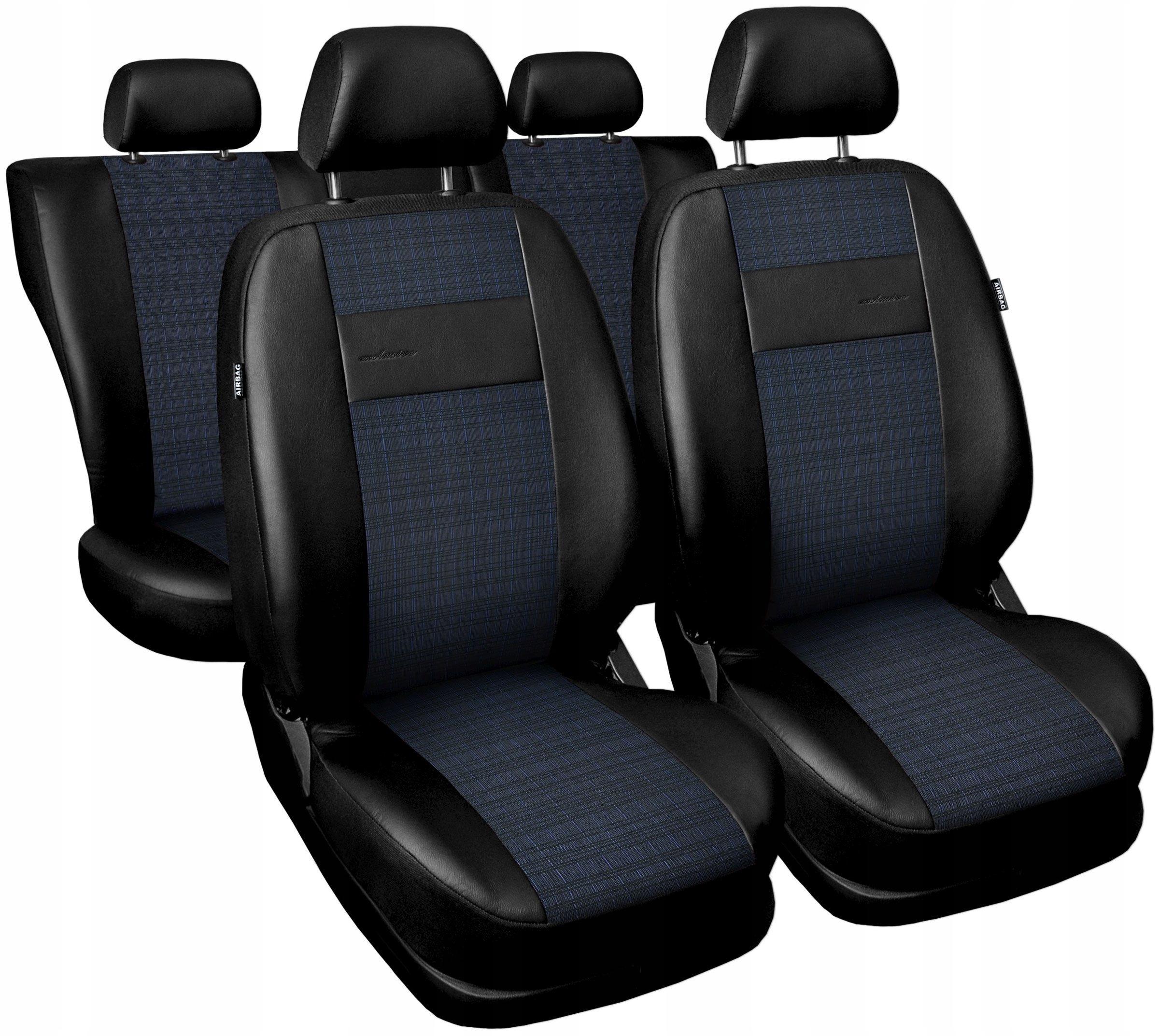 Pokrowce E6 na fotele do Audi A6 C4 C5 C6 C7
