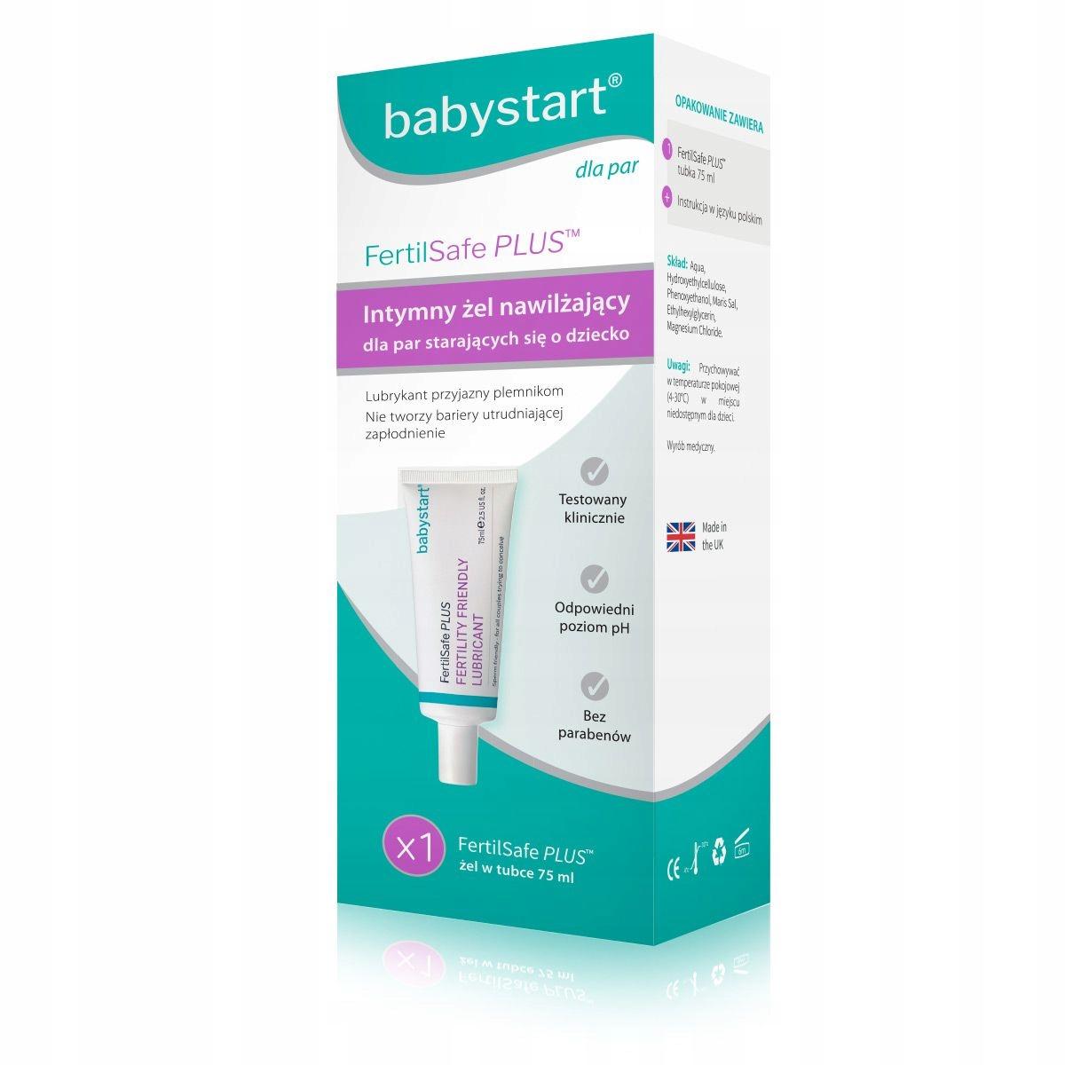 Item FertilSafe PLUS intimate gel 75ml get easy conceive