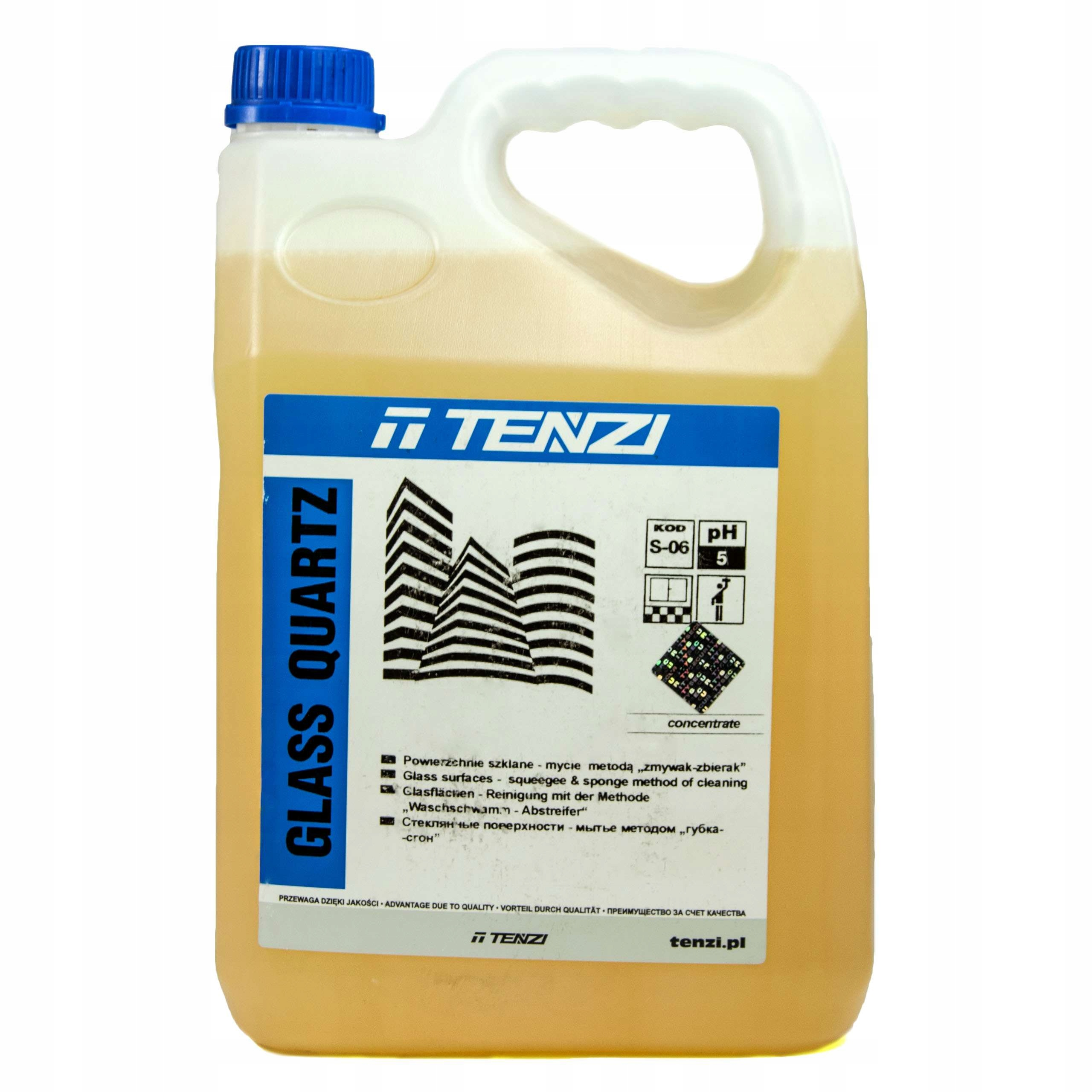 Tenzi Glass Кварцевое стекло для очистки с кварцевым покрытием 5л