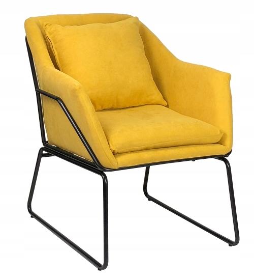 Кресло подбитый Томо yellow