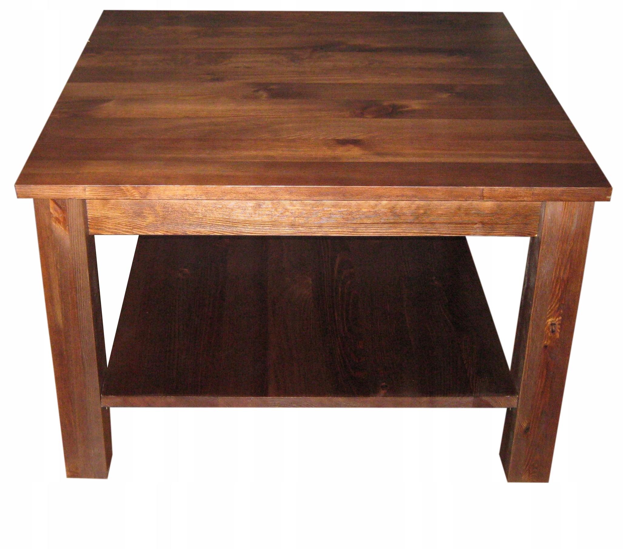 Stół drewniany sosnowy 100x70 ELEGANCKI NOWOCZESNY Kolor blatu inny kolor