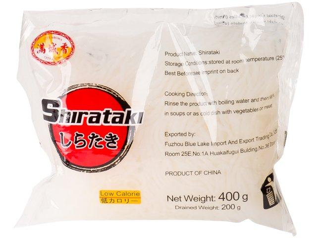 Shirataki rezance 20 x 400 g PRIADZA 9,5 kcal