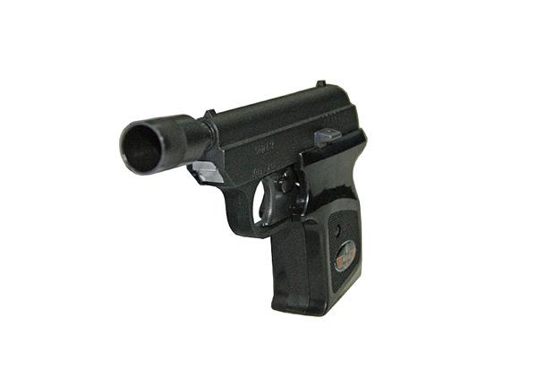 Zbraň napríklad Start-2 do 6 mm, krátke Lacnejšie !!!