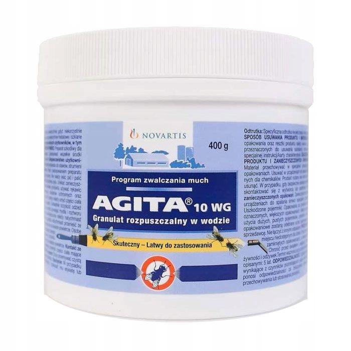 Agita 10WG 400 g Insekticíd Pre Muchy