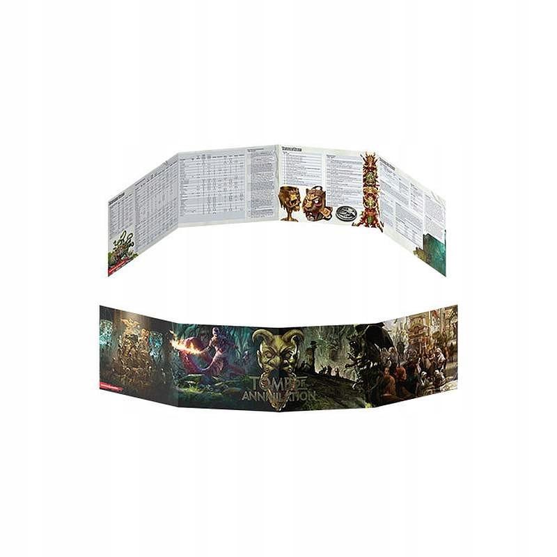 Купить D&D RPG DM Screen Tomb of Annihilation ENG на Otpravka - цены и фото - доставка из Польши и стран Европы в Украину.