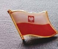 Купить Флаг RU Польша знак на pins pin значок на Otpravka - цены и фото - доставка из Польши и стран Европы в Украину.