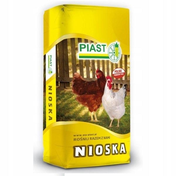 Корм для кур-несушек ПИАСТ 25 кг гранулированный