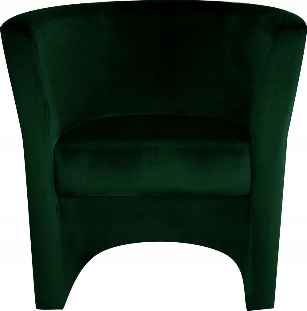 Клубное кресло Plush Bottle зеленое. Паб. Дом Салон
