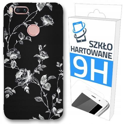 150 wzorów Etui Czarne Matt+szkło Do Xiaomi MI A1