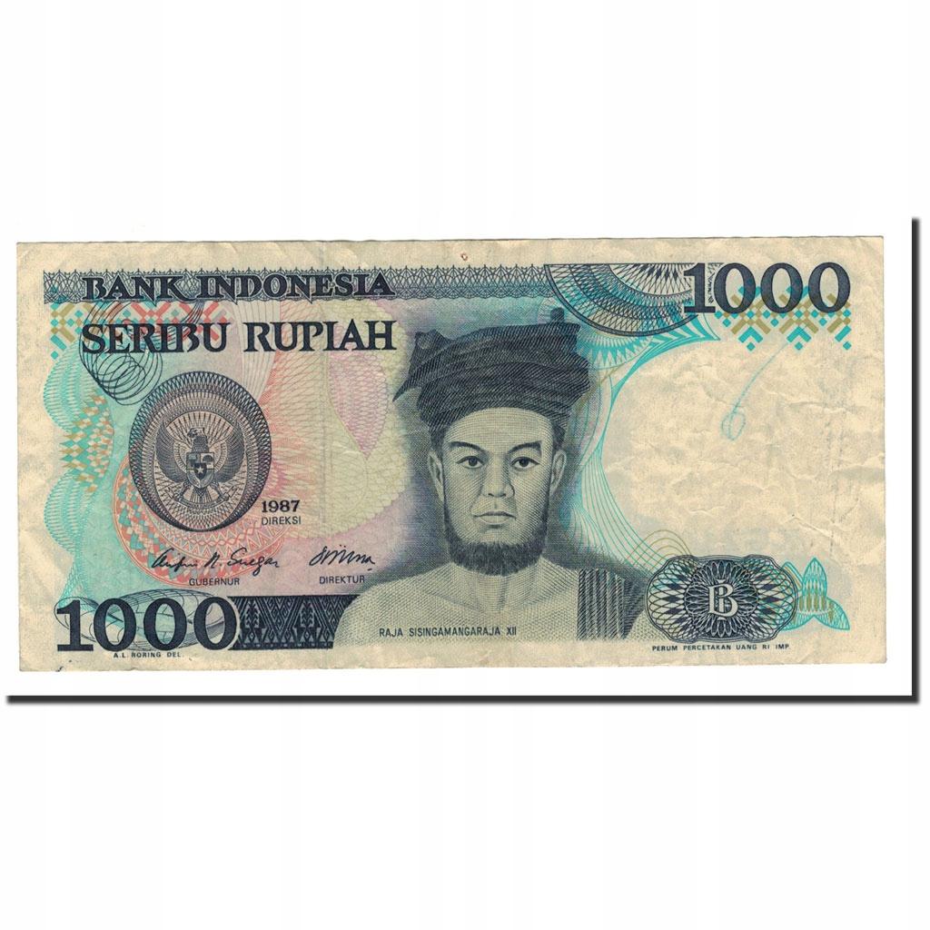 Банкнота, Индонезия, 1000 рупий, 1987, KM: 124a, EF