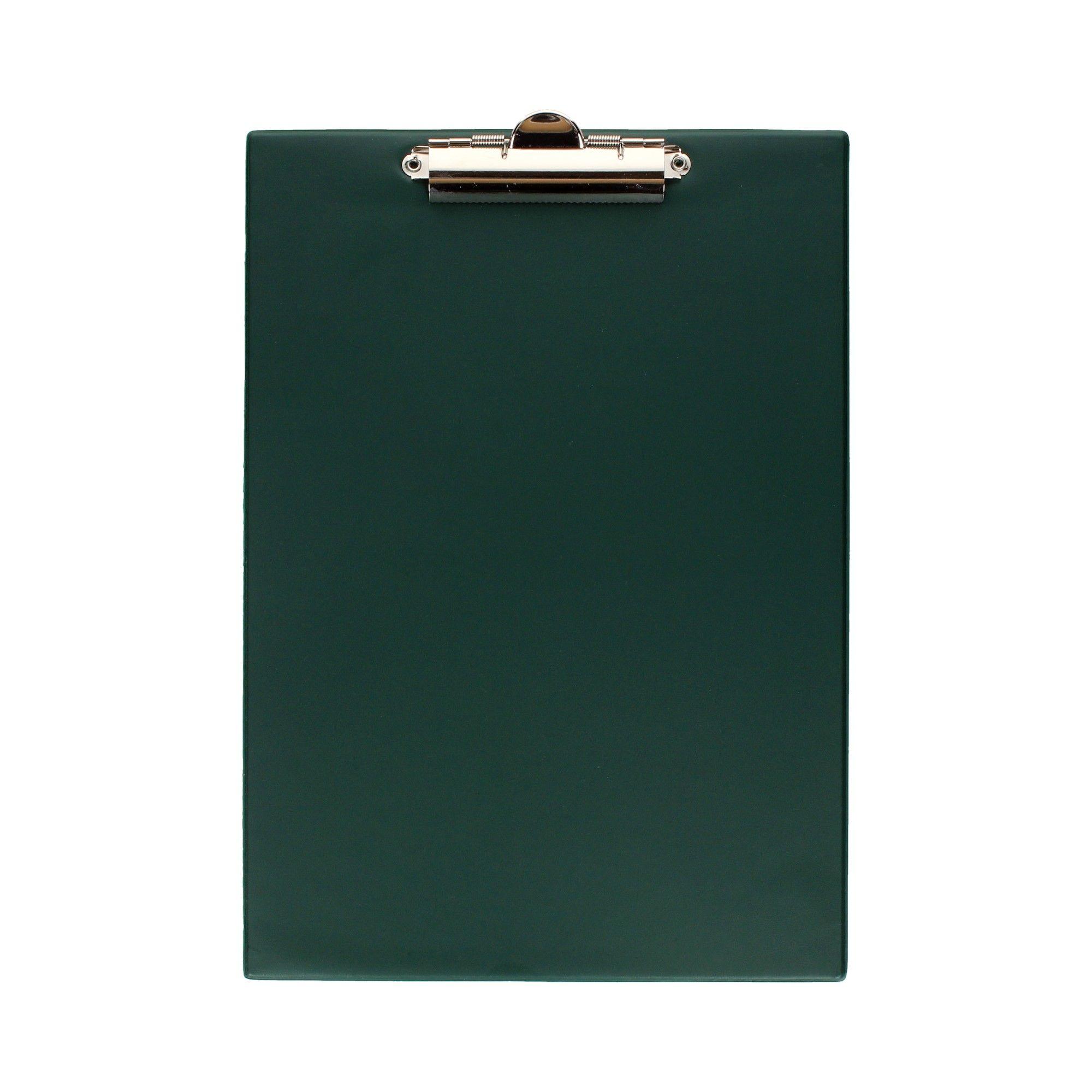 Doska s klip A4 podložka tmavo zelená podložka