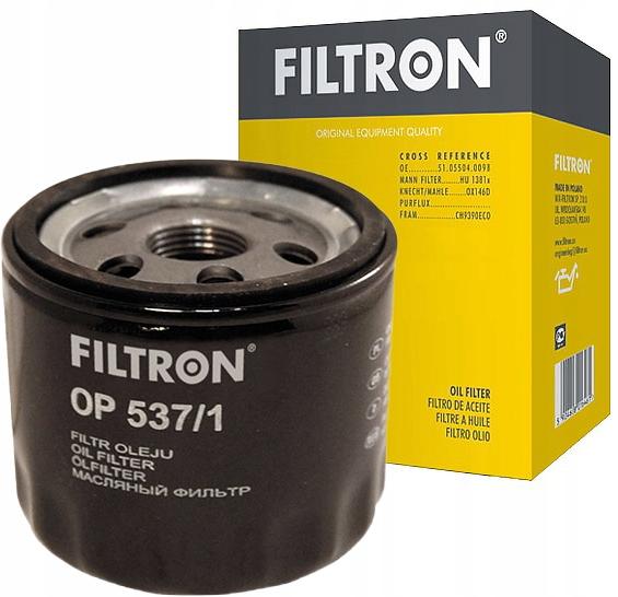 фильтр масла filtron к fiat punto 12 60 18 130