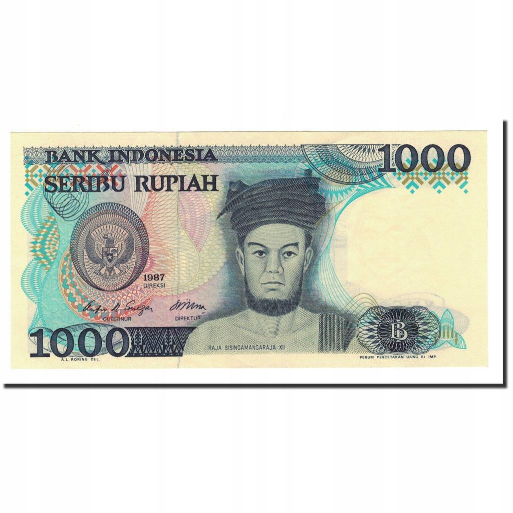 Банкнота, Индонезия, 1000 рупий, 1987, KM: 124a, UN