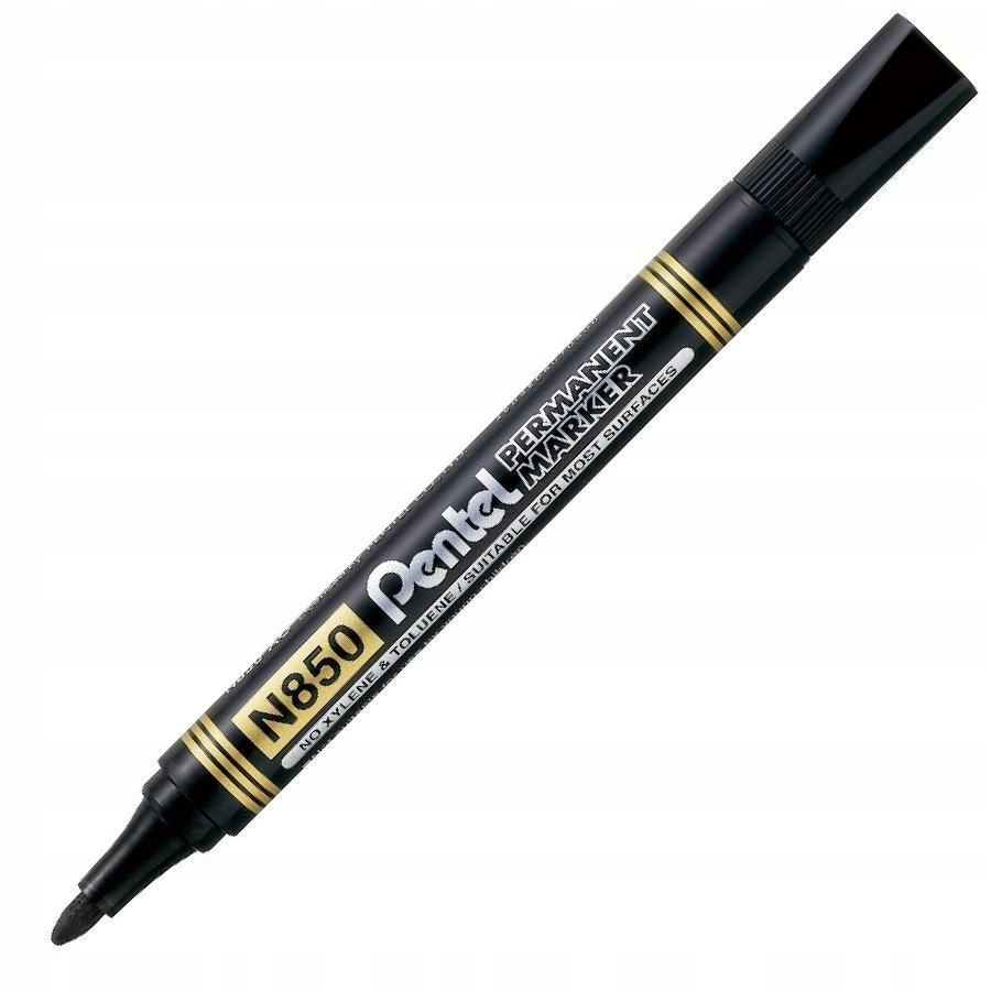 Item The permanent makeup marker PENTEL N850 round BLACK