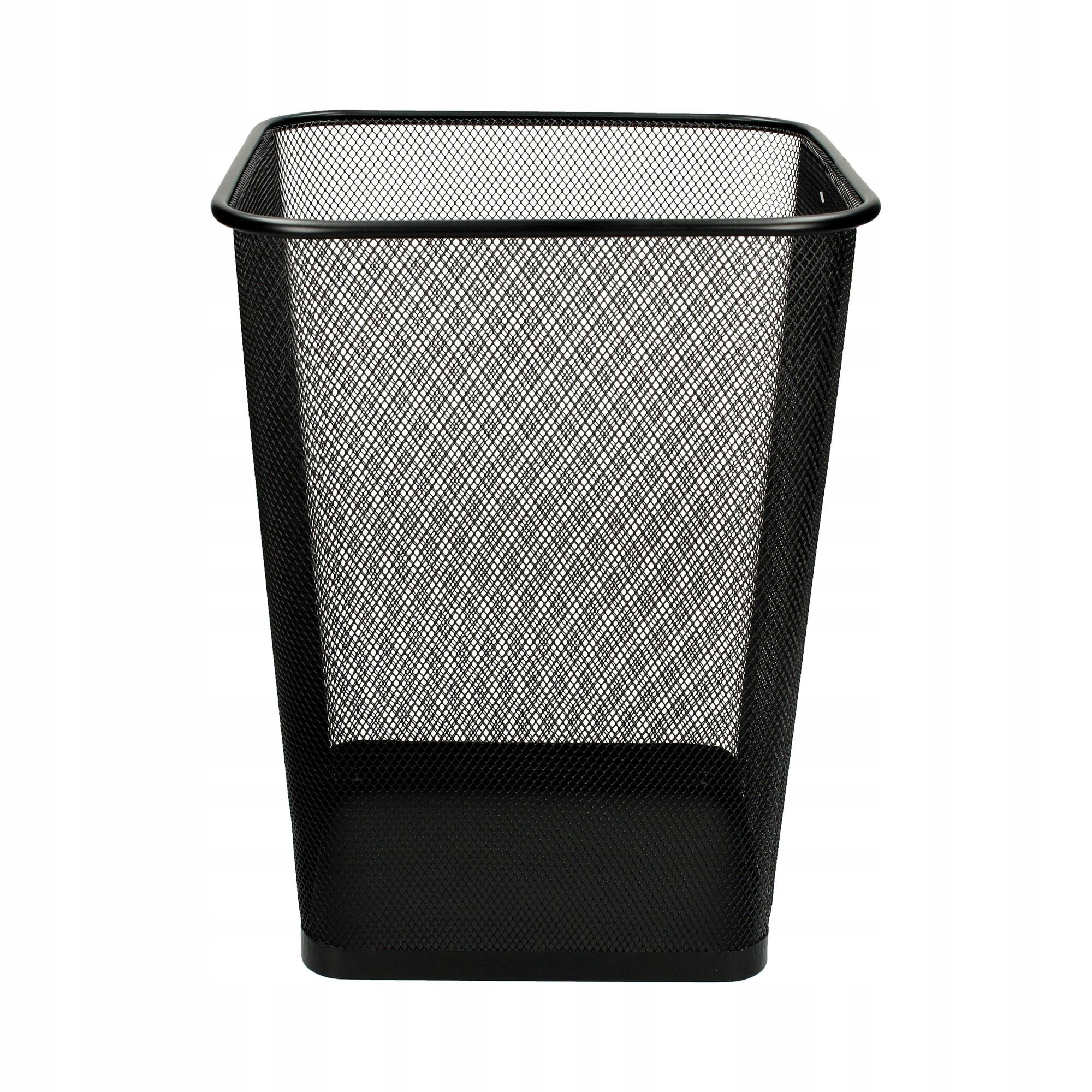 Item Bin home office black mesh square
