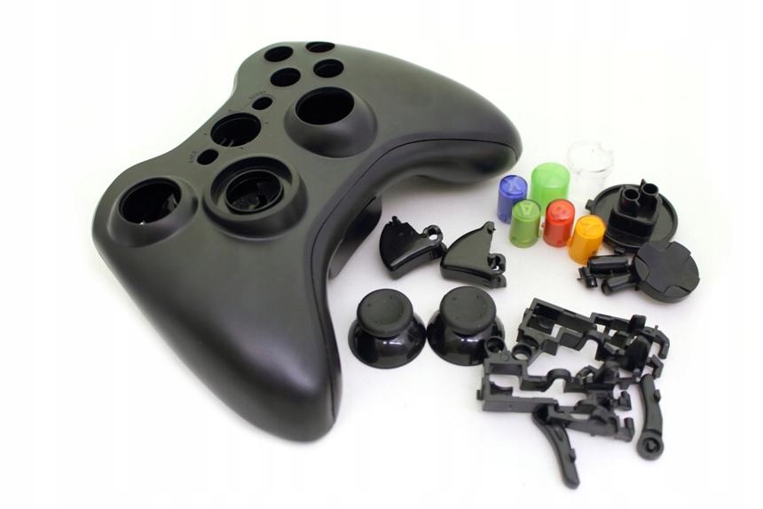 Купить Корпус геймпада Xbox 360 с кнопками ЧЕРНАЯ на Otpravka - цены и фото - доставка из Польши и стран Европы в Украину.