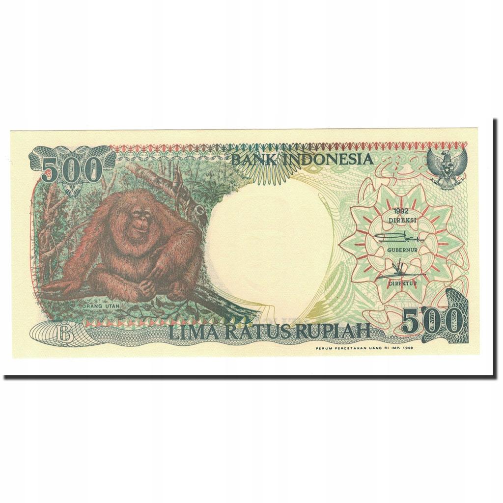 Банкнота, Индонезия, 500 рупий, 1992-2000, 1992-19