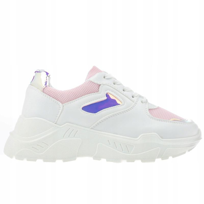 Różowe Adidasy Sportowe Sneakersy ML1913 r.39