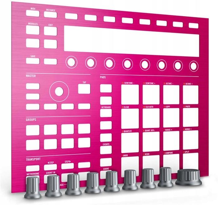 Natívne nástroje Maschine Vlastné Kit Pink