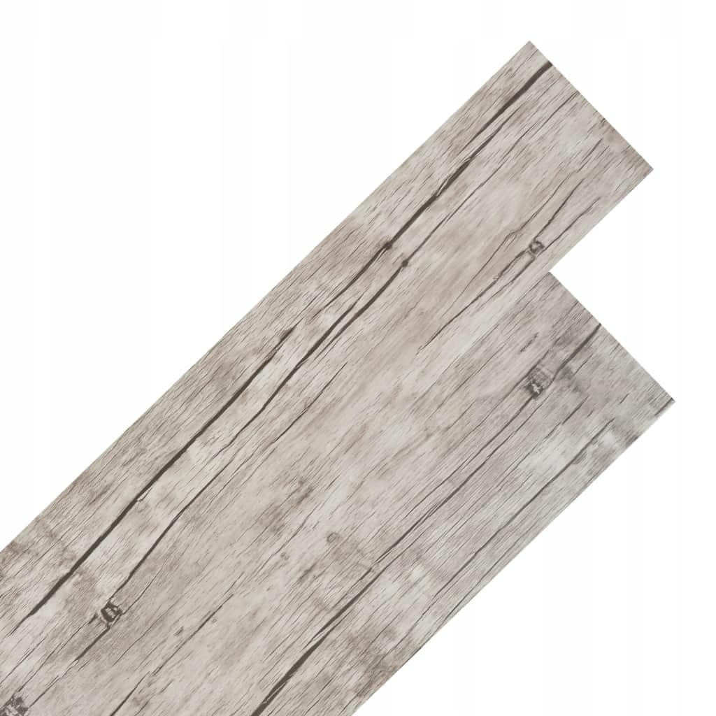 Самоклеящиеся панели пола ПВХ 5,02 м², 2 мм