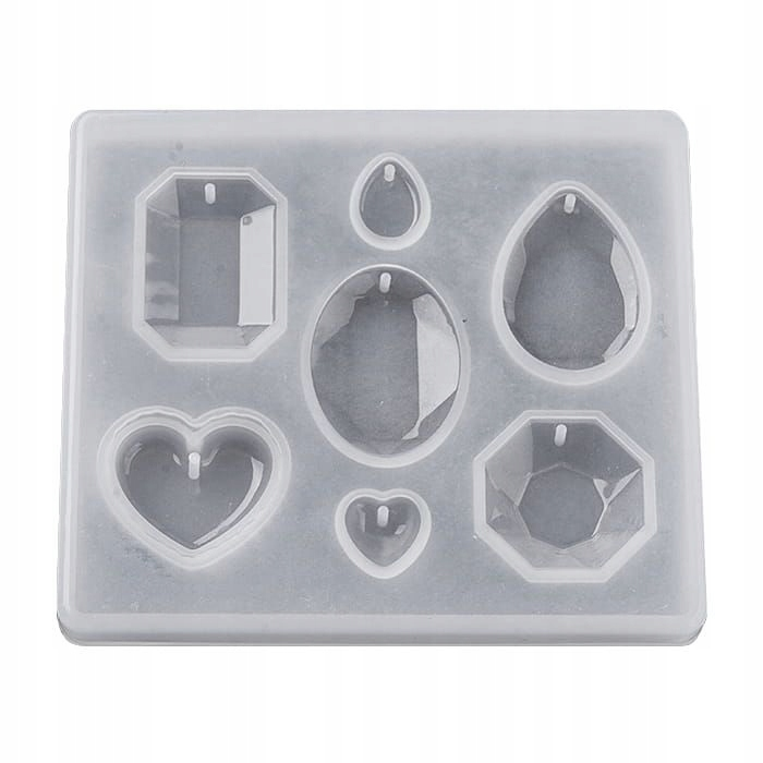 Item BFS70 form silicone for resin PENDANTS DIAMONDS