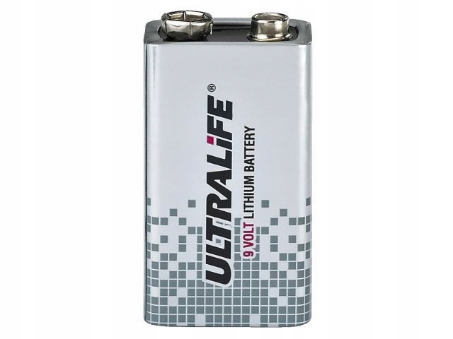Купить Monacor ULTRALIFE - Bateria litowa 9V 1200mAh на Otpravka - цены и фото - доставка из Польши и стран Европы в Украину.