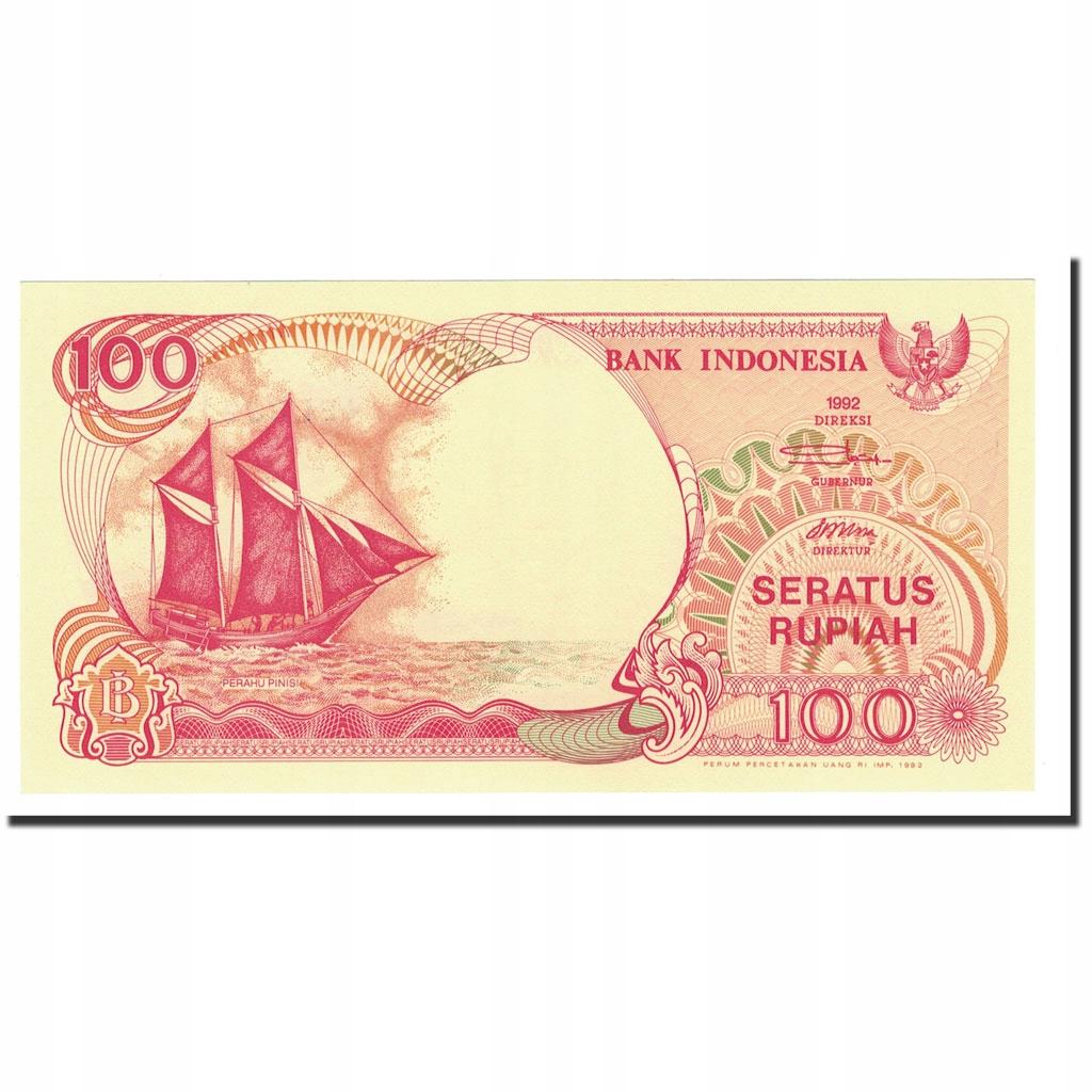 Банкнота, Индонезия, 100 рупий, 1992-2000, 1992, К.