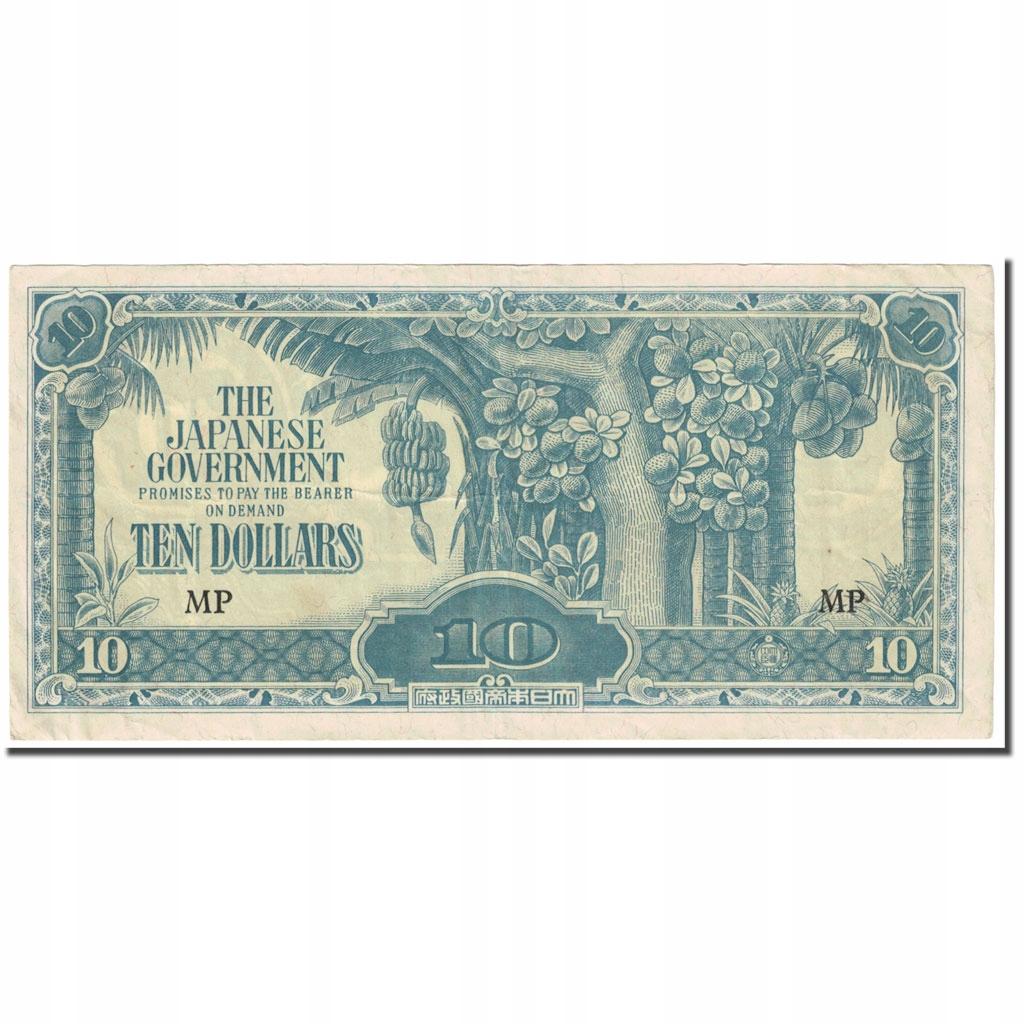 Банкнота, МАЛАЙЗИЯ, 10 долларов, 1942-1944, без даты (