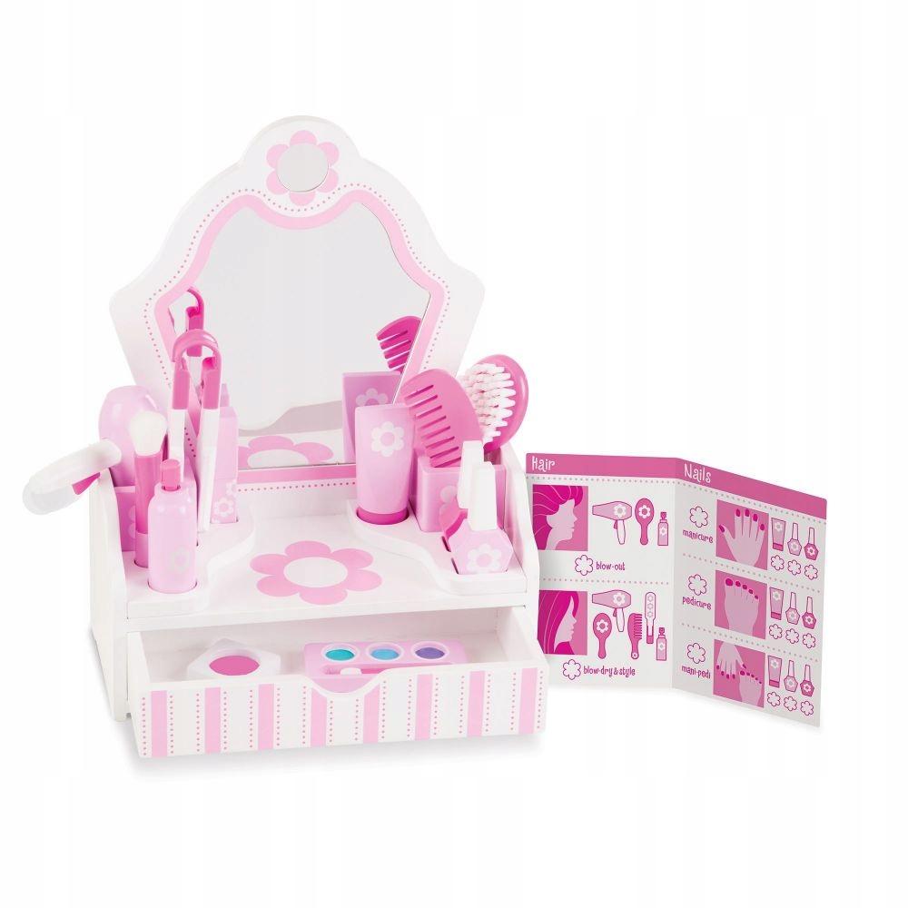 Hračky pre dievča Toaletný stolík Kozmetický salón