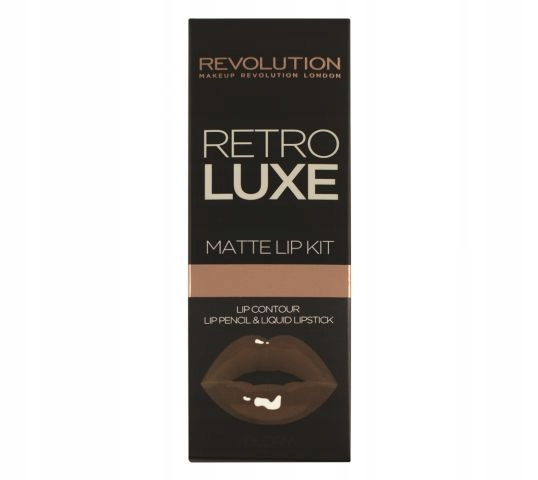 Make-Up Revolution Retro Luxe Matné Pery Súpravy Pre Slávu