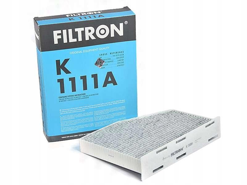 фильтр кабины filtron k1111a audi seat skoda vw