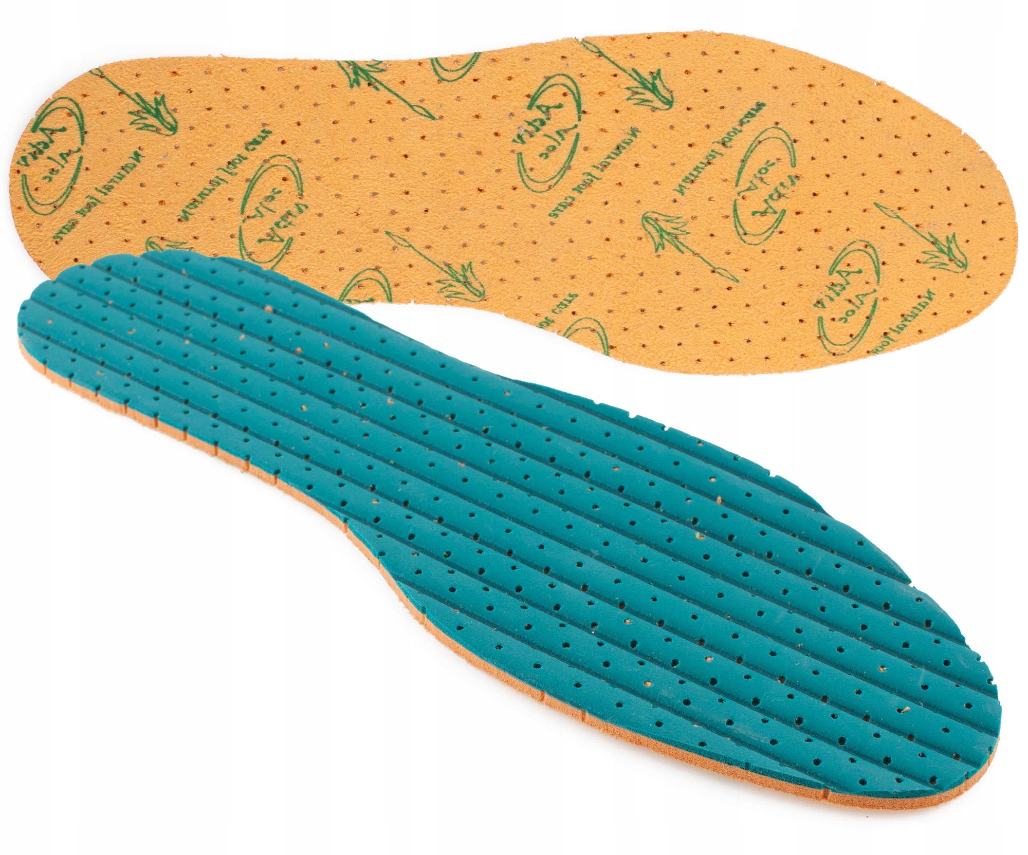 Стельки для обуви ALOE VERA с экстрактом алоэ