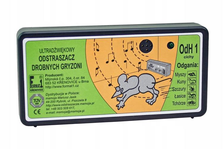 SILNÝ HLODAVCE REPELLER KUN, potkany + 6 batérie