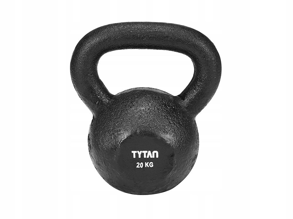 Hantla HMOTNOSTI Odważnik liatiny TITÁN 20 kg