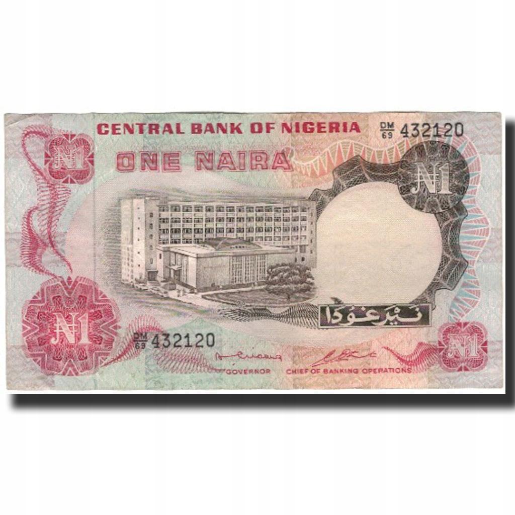 Банкнота, Нигерия, 1 найра, без даты (1973-78), КМ: 1