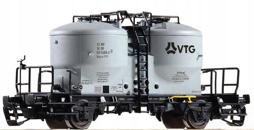 Вагон 2 os. для перевозки цемента Ucs-v VTG ep. V TT доставка товаров из Польши и Allegro на русском