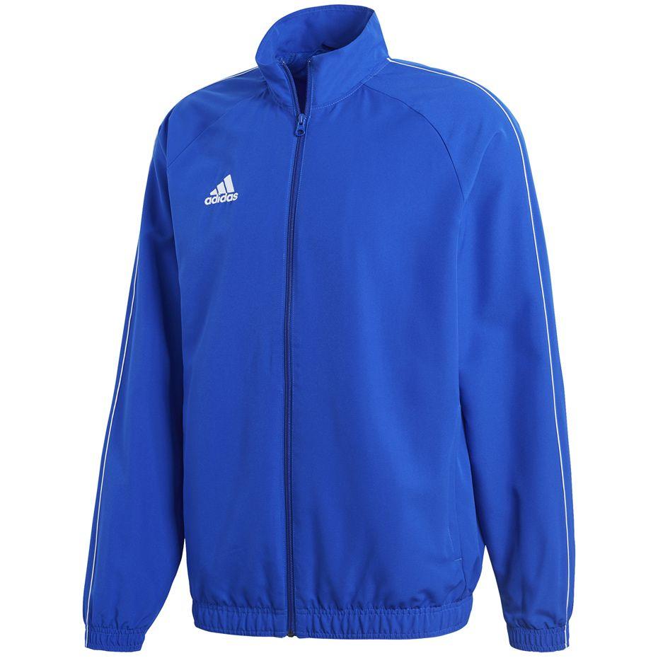 Mikina adidas Core 18 Prezentácia modrá XL