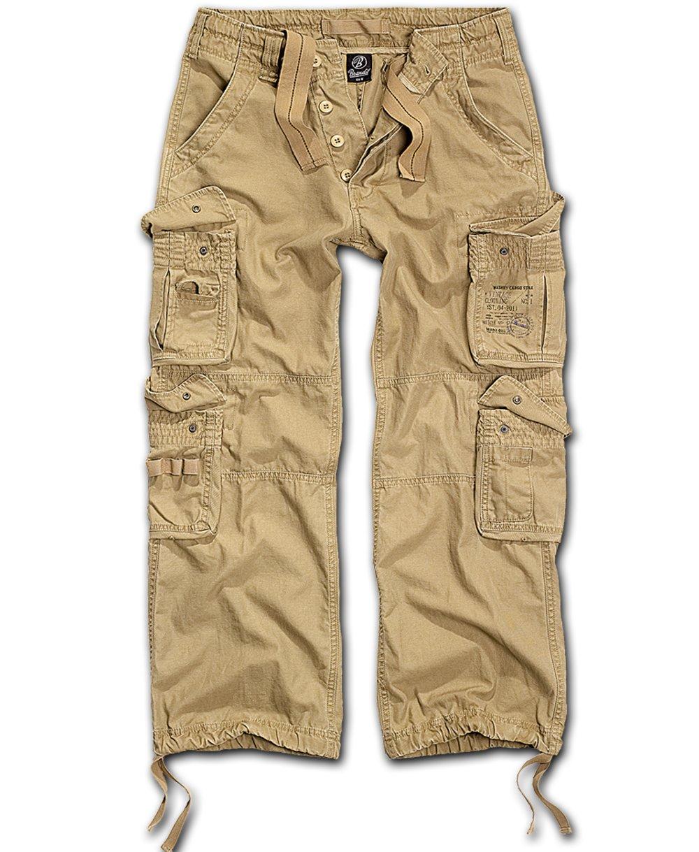 Nohavice BRANDIT Čistý Vintage béžová XL