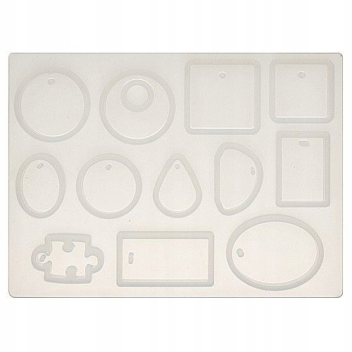 Item BFS02 Form mold silicone resin 12 designs