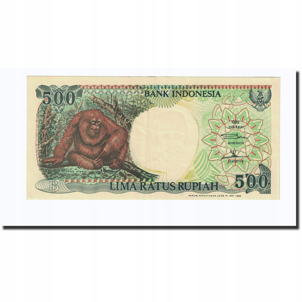 Банкнот, Индонезия, 500 рупий, 1992, KM: 128a, AU (