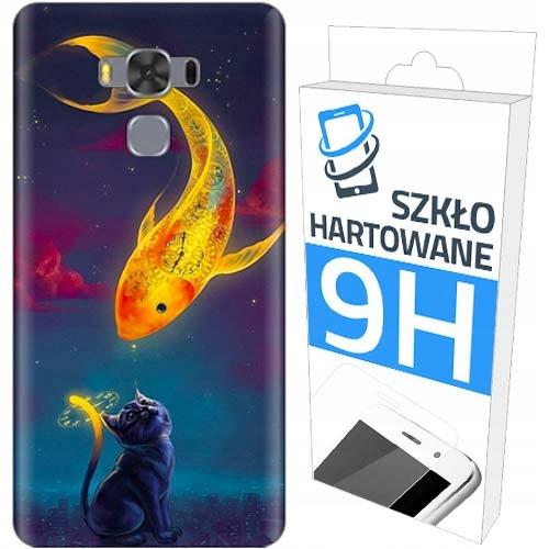 200 wz. Etui+szkło do Asus Zenfone 3 Max ZC553KL