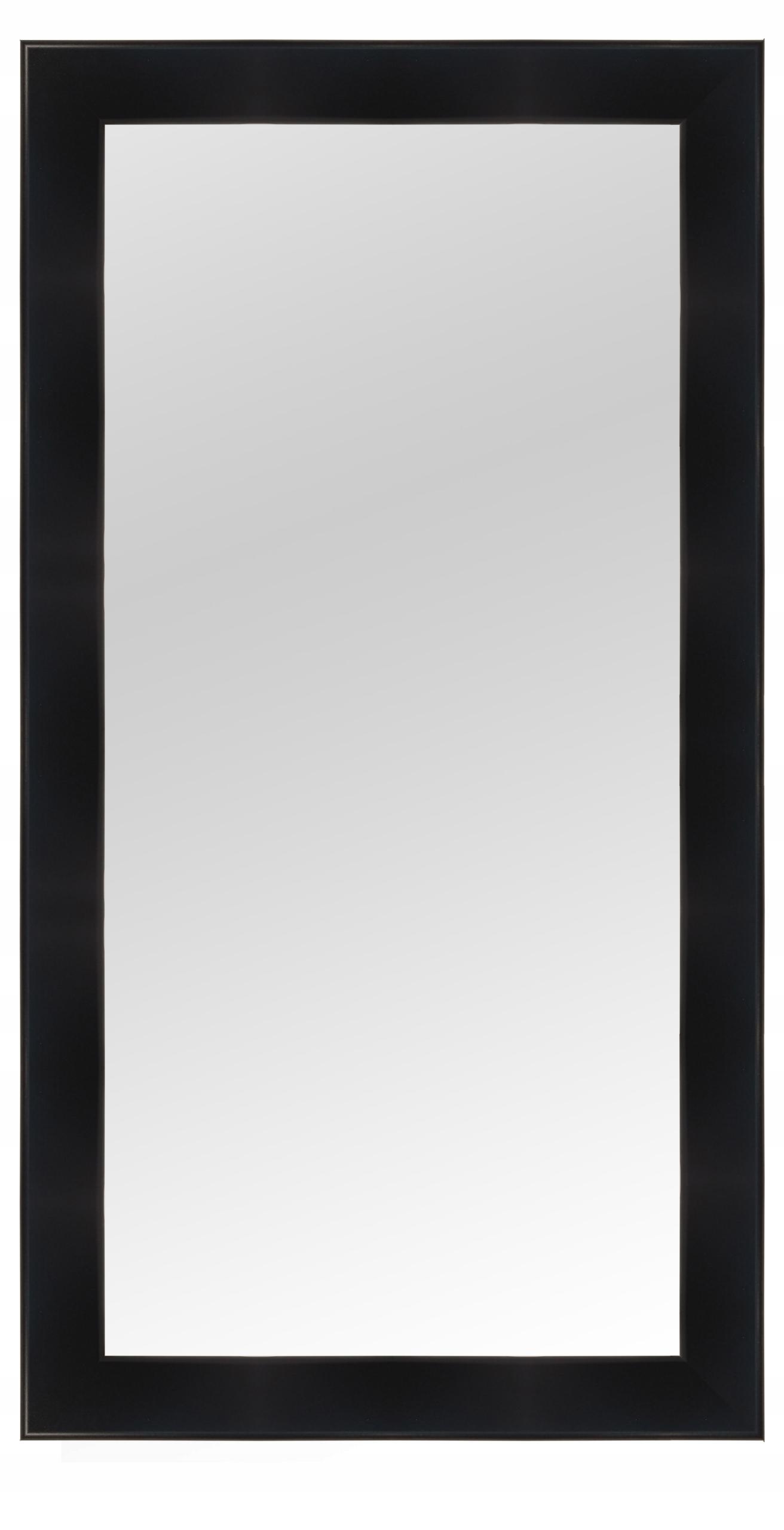 Зеркало в раме 150X60 белый венге черный венге микс