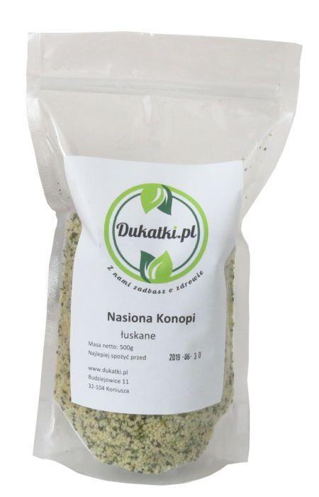 Konopné semená, tiež lúpané osiva ZDROJOM Bielkovín 1000 g