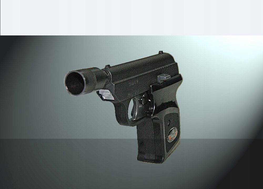 Zbraň, napríklad-alarm Štart 1 6 mm krátky