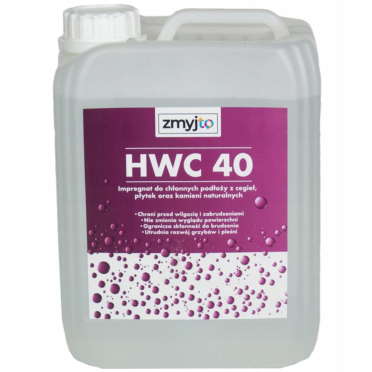 HWC 40 Пропитка для интерьеров, кирпича и песчаника 5Л